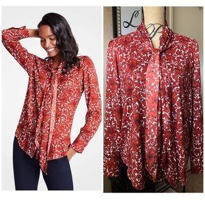 • floral Ann blouse •